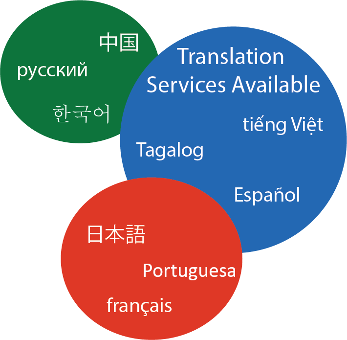 Translation services are available